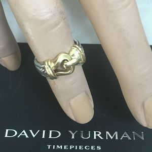🔴Authentic David Yurman Buckle Ring ❤️💖